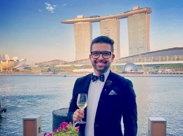 Jerome Doraisamy in Singapore