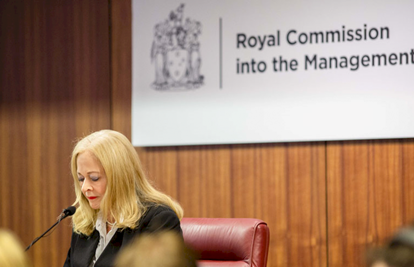 Royal Commission judge