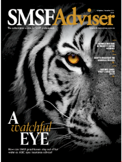 SMSF Adviser – 1 annual issue