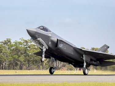 F-35 arrival William town